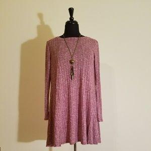 Charlotte Russe Mini Sweater Dress